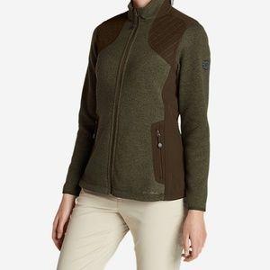 Eddie Bauer Day Break jacket in Green moss Sz L